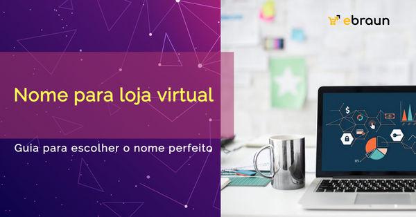nome para loja virtual