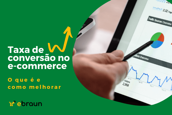Taxa de conversão no e-commerce